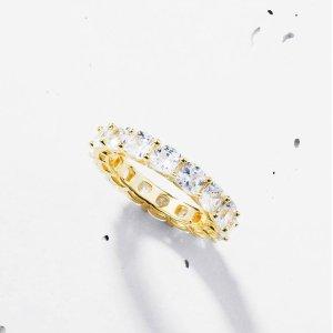 低至4.6折+满£85额外7折Objekts 绝美戒指 仙气飘飘 童话感十足 迪士尼在逃公主必戴