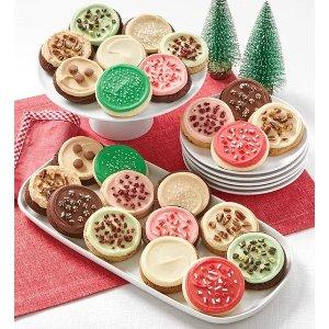 节日主题饼干礼盒
