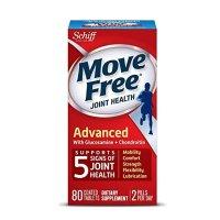 Schiff Move Free 红瓶基础款维骨力80粒