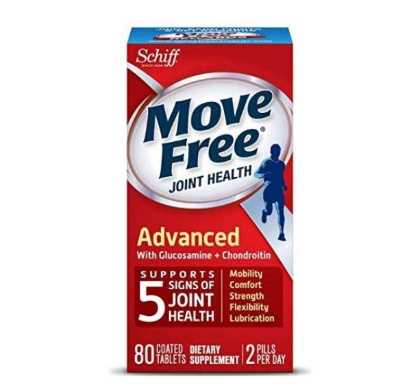 Move Free 红瓶基础款维骨力80粒