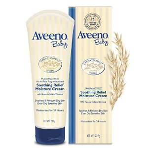 $6.62 Aveeno Baby Soothing Relief Moisturizing Cream For Dry Sensitive Skin, 8 Oz.