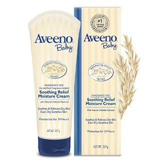$4.63+包邮Aveeno 婴儿保湿燕麦润肤乳 8盎司