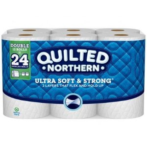 Quilted NorthernUltra Soft & Strong Double Roll Bath Tissue - 12 ct
