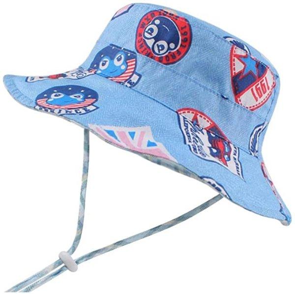 婴幼儿防晒太阳帽