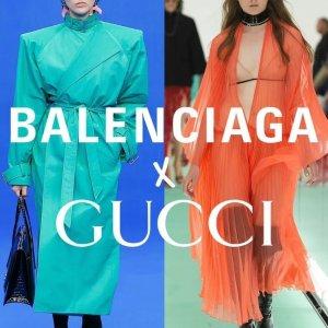 下拉查看最新秀场直击Gucci x Balenciaga 世纪联名震撼官宣 年度最具话题新系列