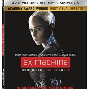 《Ex Machina 机械姬》4K 蓝光版
