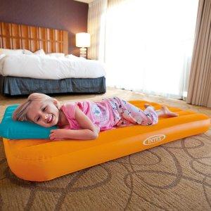 $12.94 (原价$27.31)白菜价:Intex Cozy Kidz 儿童充气床+充气枕