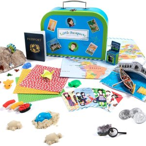 $12.5 for First BoxLittle Passports World Edition - Subscription Box for Kids