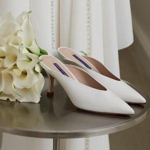 低至5折+额外7.5折 一字带$179.1Stuart Weitzman 春夏新款美鞋热卖