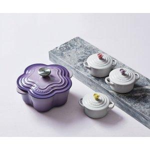Le Creuset花型铸铁锅