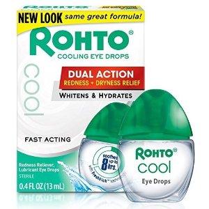 RohtoCool 缓解红血丝眼药水 13ml 3瓶