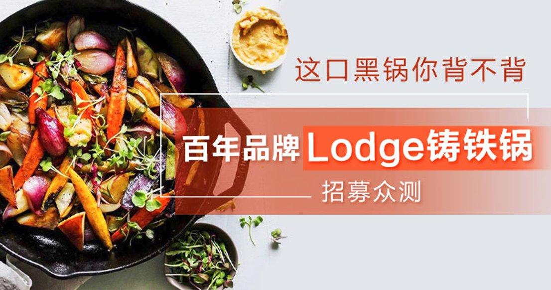 【百年老字号】Lodge铸铁锅