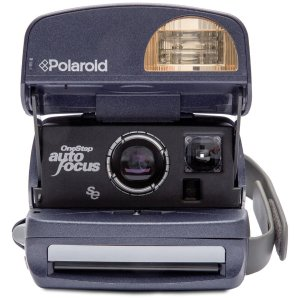Polaroid免费送交卷!600 照相机 圆形—复古翻新A级