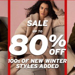 2折起 £5收必备毛线帽Topshop 全场大促清仓价 冬季新品毛衣针织衫上新 新年新气象