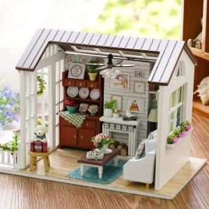 现价$25.99Decdeal 迷你娃娃屋 DIY手工套装 送给闺蜜走心的礼物