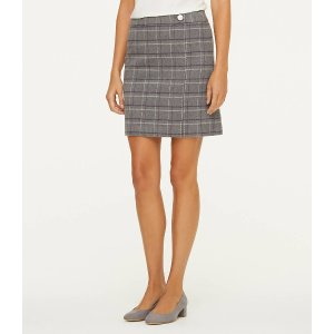 LOFT Outlet格子半身裙