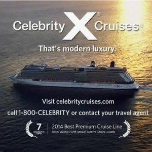 7天游轮低至$529起Celebrity Cruise 限时促销 免小费+最高$700消费券等
