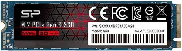 P34A80 1TB NVME M.2 固态硬盘