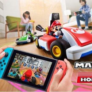 定价€99 10月16日正式发售上新:Nintendo Swicth 马力欧赛车Live:Home Circuit AR游戏开放预售
