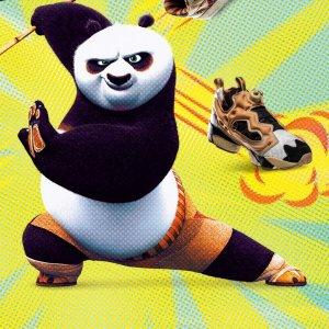 功夫熊猫T恤€35收上新:Reebok 功夫熊猫全新联名上市 真熊猫配色