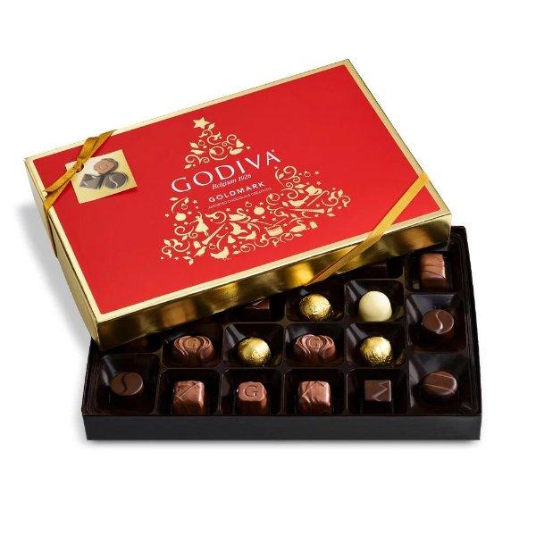 Goldmark 巧克力礼盒 22块
