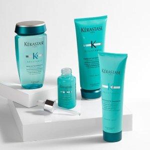 满$100赠室内香氛Kerastase 大容量洗发水热卖 收强韧修护洗发水