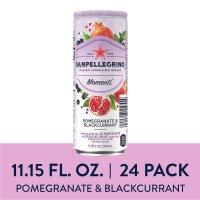 Sanpellegrino 石榴和黑加仑口味果汁气泡水24罐装