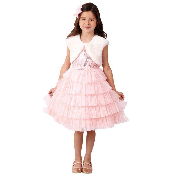 儿童节日礼服裙