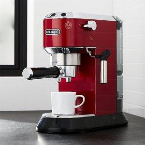 史低价:Delonghi DEDICA 德龙不锈钢意式浓缩咖啡机