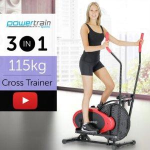 4.8折 + 包邮PowerTrain 家用椭圆机健身器