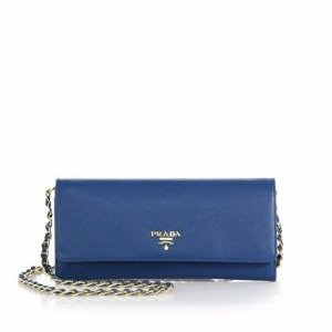9cf16507c651 Saks Fifth Avenue offers up to 40% off Prada women shoes and handbags  purchase. Free shipping. PradaSaffiano Metal Oro Chain Wallet