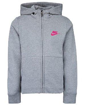 $17.52 Nike Little Girls Full-Zip Logo Hoodie