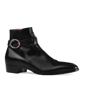 Gucci踝靴