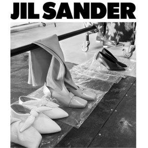低至5折 €382收厚底皮靴Jil Sander 极简主义精美鞋履热卖 收靴子、尖头鞋、凉拖等