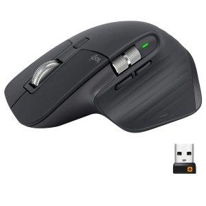 $139起Logitech MX Master 3 无线办公鼠标 电磁滚轮