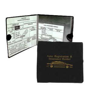 $4.48Sterling Auto Car INSURANCE Registration Holders