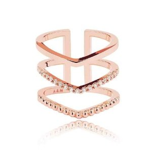 Astrid & MiyuMystic Ring in Rose Gold