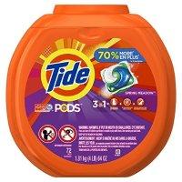 Tide PODS 洗衣球72个