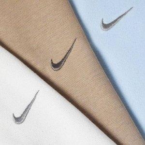 全场低至5折起SNS 休闲服饰大促 Nike Swoosh卫衣、adidas、北脸最IN潮流