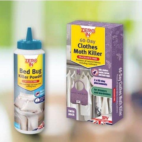 杀虫剂£3起 跟虫虫say byeZero in 床铺地毯亲肤杀虫剂、衣物防蛀剂好价特卖