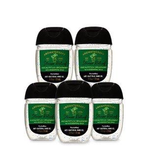 Eucalyptus Spearmint PocketBac, 5-Pack Hand Sanitizer