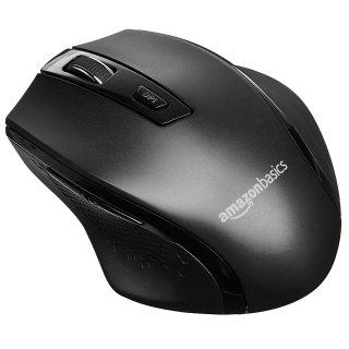 $5.14AmazonBasics Ergonomic 无线鼠标 DPI 可调 黑色