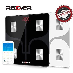 REDOVER-Bluetooth Body Fat Scale with Free IOS and Android App