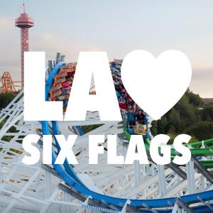$61.19起  免取票扫码极速入园洛杉矶六旗魔术山主题游乐园门票 Six Flags Magic Mountain