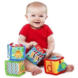 低至5折 越玩越聪明Bright Starts 婴幼儿益智早教玩具促销