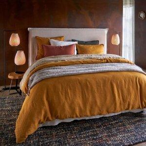 低至7折 €16收枕头一对Galeries Lafayette 床品家纺热卖 简约风让家里焕然一新
