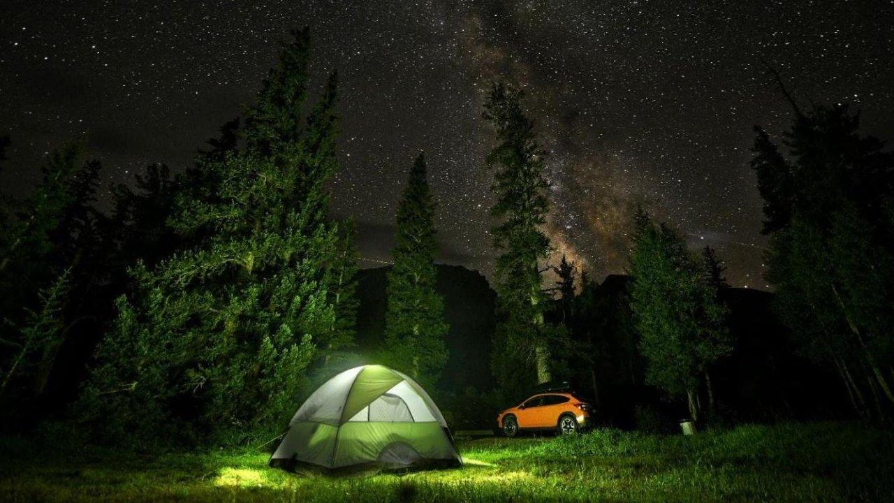 亲近自然:摄影教学-露营时拍个星空图吧