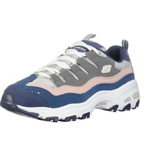 $45.88起(原价$90.48)Skechers D'Lites 女士运动鞋 这么温柔的配色 怎能不入手