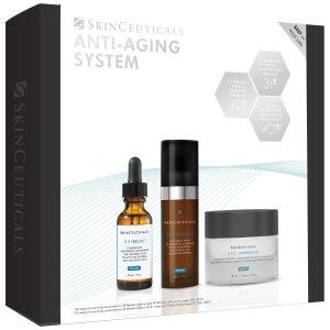 SkinCeuticals不叠加折扣 价值 $481抗衰老套装