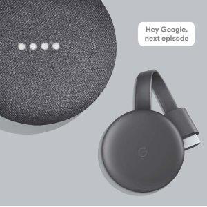 Google Smart TV Kit: Google Home Mini and Chromecast, Walmart Exclusive